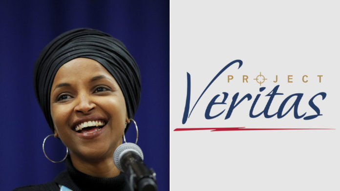 Project Veritas investigating Ilhan Omar