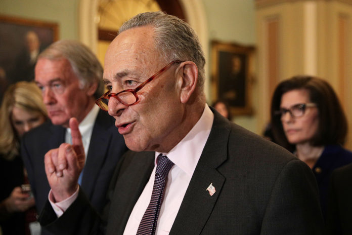 Chuck Schumer and other top Democrats are once again trying to delay Supreme Court nomination