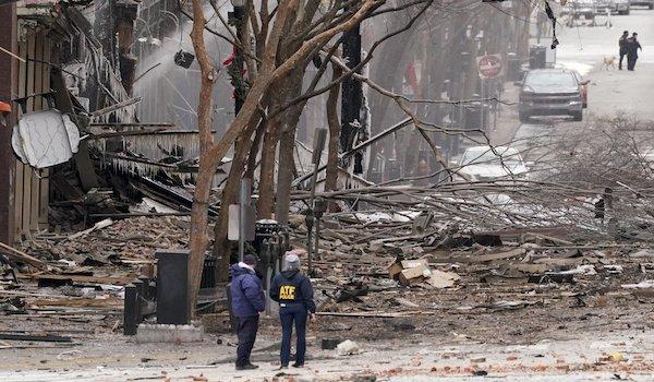 RV Nashville explosion bombing cincinnati Nashville