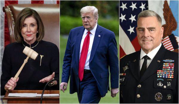 Nancy Pelosi impeach president Trump