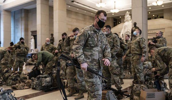 Biden Military National Guard washington DC Biden inauguration