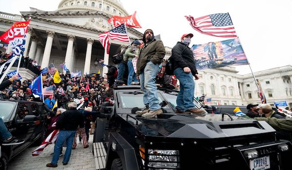 DOJ riot trump stolen laptop