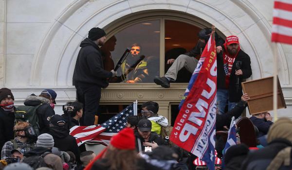 Trump riot washington capitol arrest