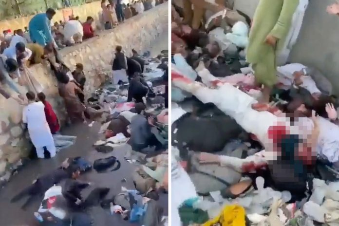 Gruesome Video: Kabul Airport Aftermath